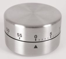 Probus Stainless Steel 60 Minute Timer